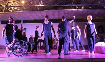 Engelsiz dansçılar 90. kez sahnede