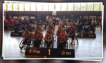 Galatasaray Tekerlekli Sandalye Basketbol Takımı'nı IWBF Euroleauge 1 şampiyonluğundan dolayı kutlarız!